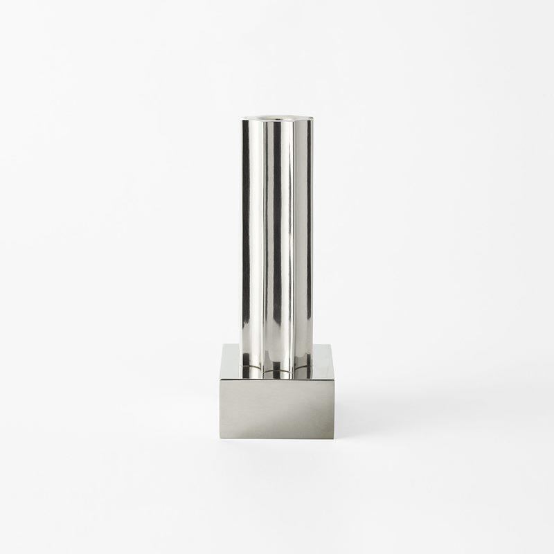 Candle Holder Kolonn - 17 cm, Pewter | Svenskt Tenn