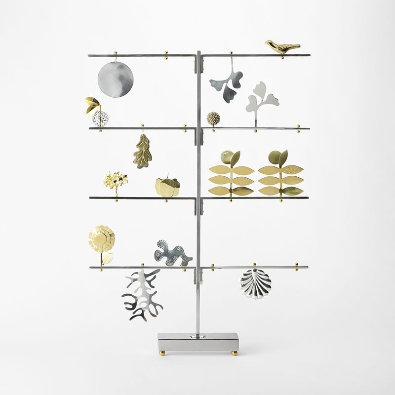 Tree Figaros Ranka - 75x54x6,5 cm, Silver plated Brass | Svenskt Tenn