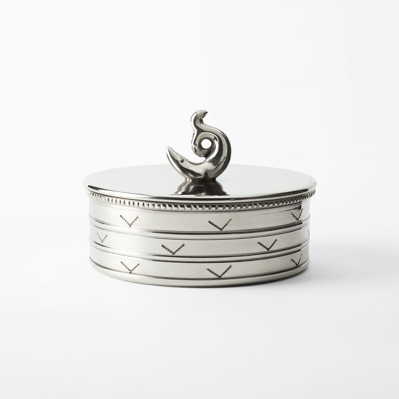 Box Fish - 10.5x7.5 cm, Pewter | Svenskt Tenn