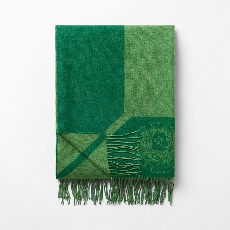 Throw Svenskt Tenn - 140x210 cm, Merino Wool, Green | Svenskt Tenn