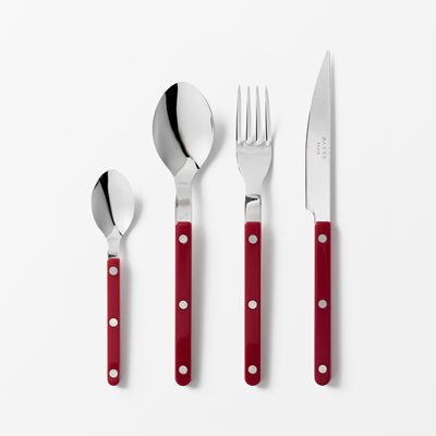 Cutlery Bistro - Stainless Steel, Table Spoon, Red | Svenskt Tenn