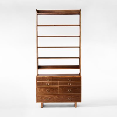 Bookcase 2112 - Mahogany, Shelf with chest, Josef Frank | Svenskt Tenn