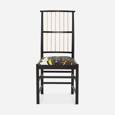 Chair 2025 - Padded, Black, Josef Frank | Svenskt Tenn