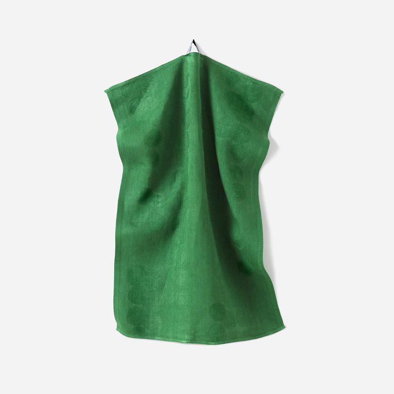 Kitchen Towel Celotocaulis - 50x70 cm, Linen, Celotocaulis, Green | Svenskt Tenn