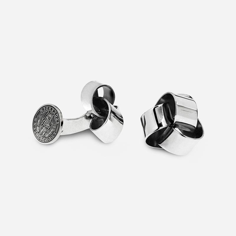 Cufflinks Knot - silver | Svenskt Tenn