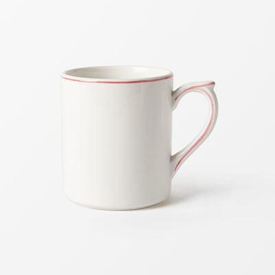 Cup Filet - 26 cl, Faience, Coral | Svenskt Tenn