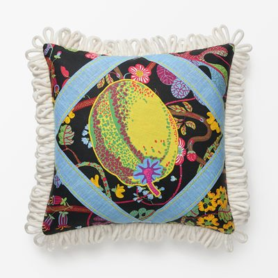 Cushion Al Fresco Couture 7 - 60x60 cm, Linen, Jean-Philippe Demeyer | Svenskt Tenn