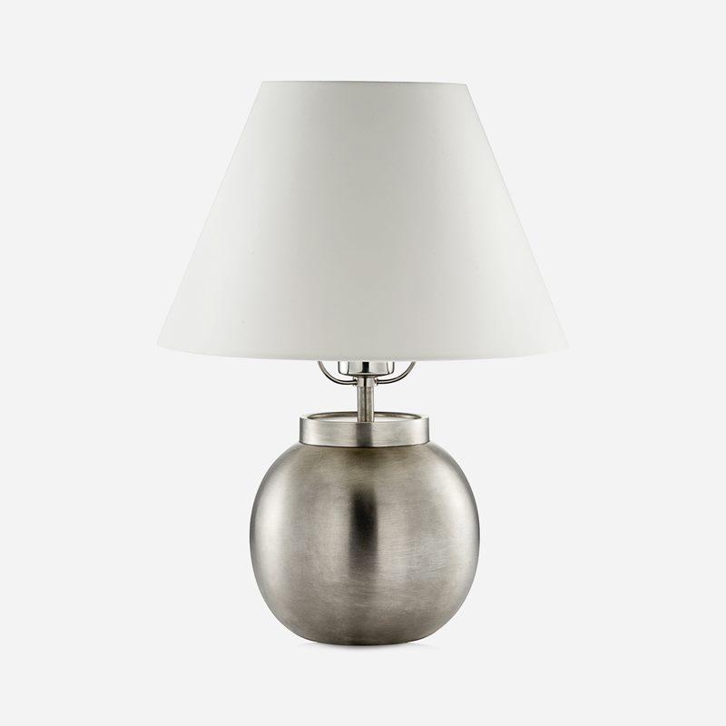 Table Lamp Ball Pewter - Pewter | Svenskt Tenn
