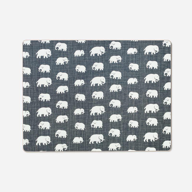 Underlägg Elefant - Elefant, Grå | Svenskt Tenn