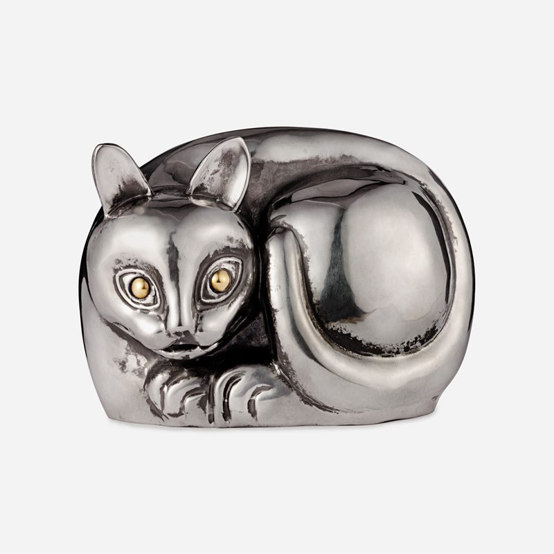 Cat - Pewter | Svenskt Tenn