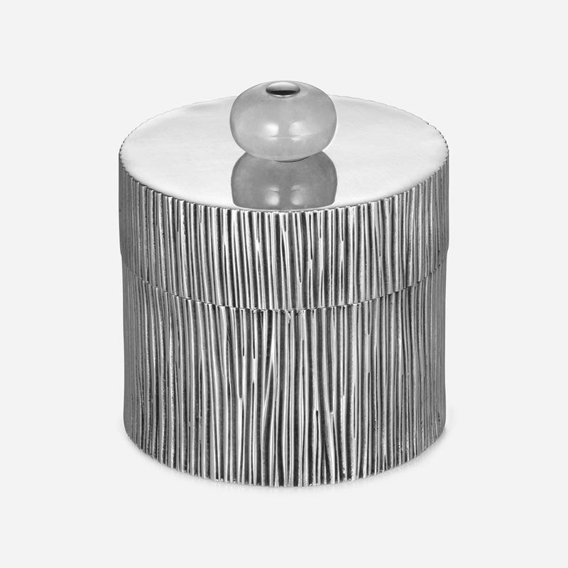 Box Branch  Small - Small, Pewter, Rock crystal | Svenskt Tenn