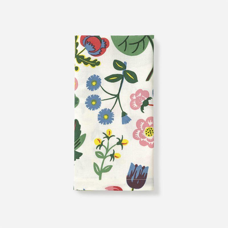 Servett Mille Fleurs - Bomull, Mille Fleurs | Svenskt Tenn