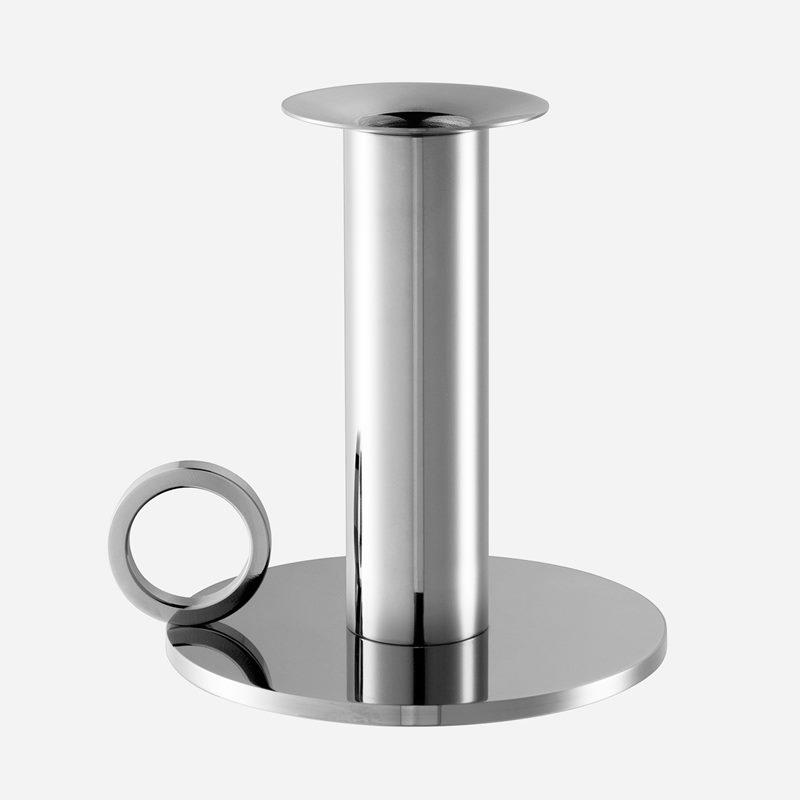 Candle Holder Chamber - Stainless Steel | Svenskt Tenn