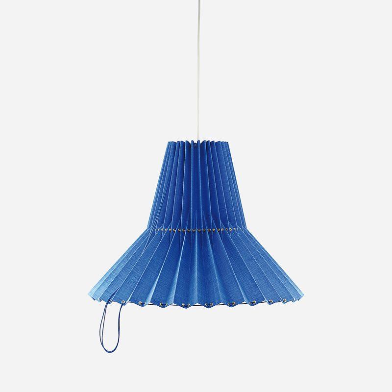 Ceiling Lamp Greta - Linen, Blue | Svenskt Tenn