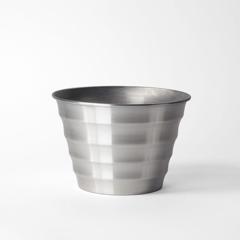 Pot Wavy - Medium, Aluminium | Svenskt Tenn