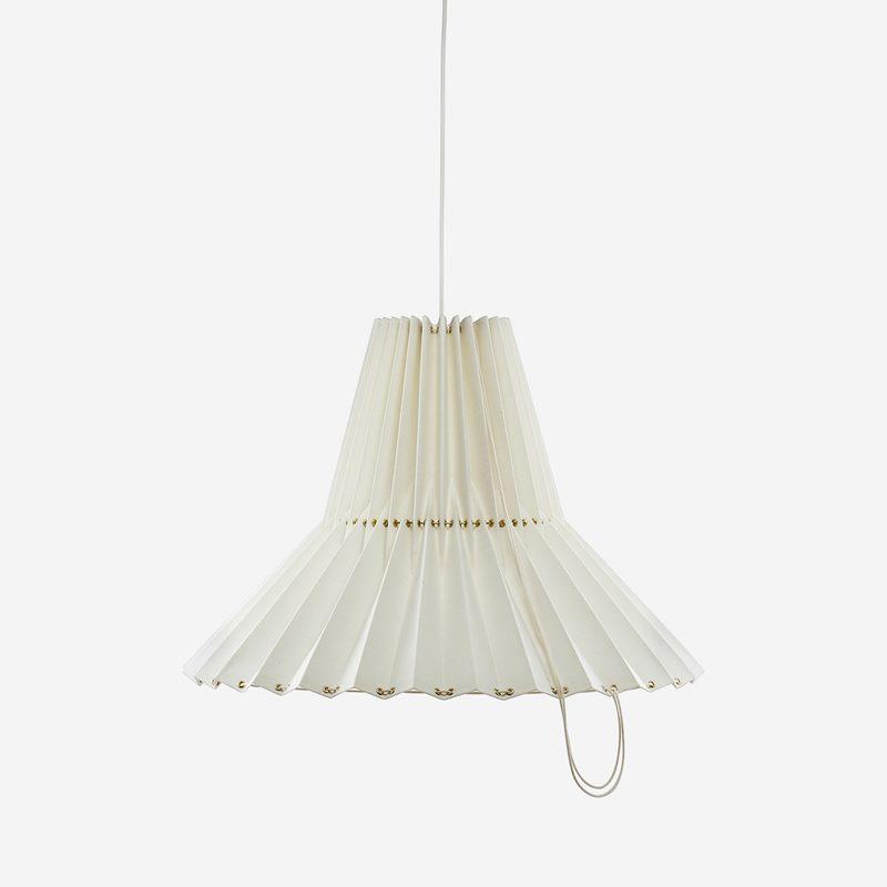 Ceiling Lamp Greta - Linen, White | Svenskt Tenn