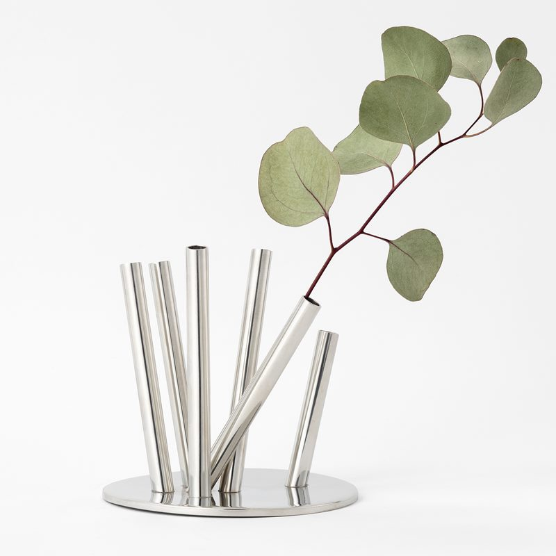 Vase Pipes - Pewter | Svenskt Tenn