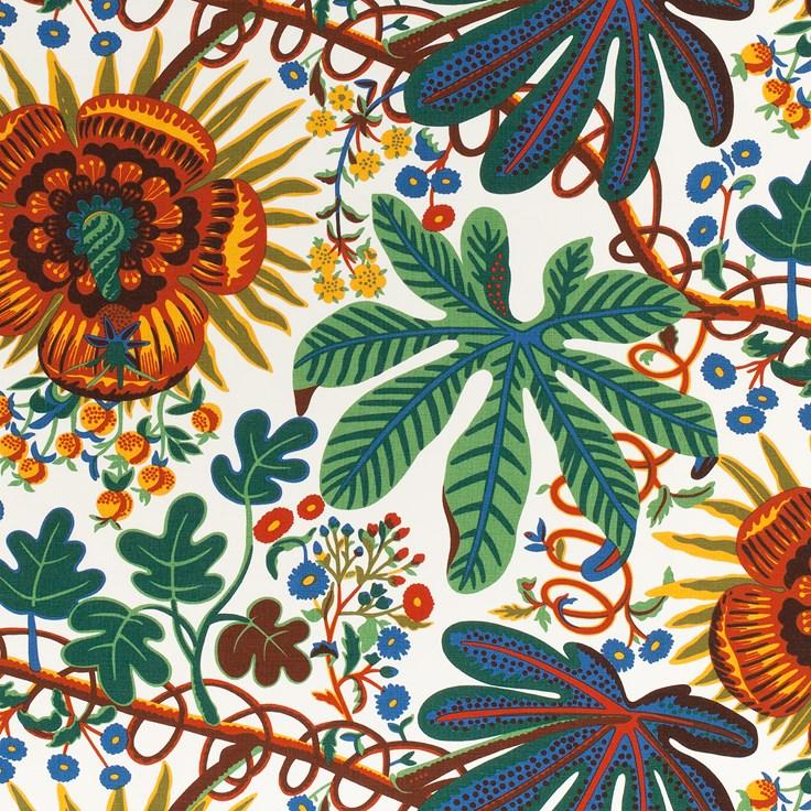 Textile Aralia Linen 315 Aralia Josef Frank Svenskt Tenn