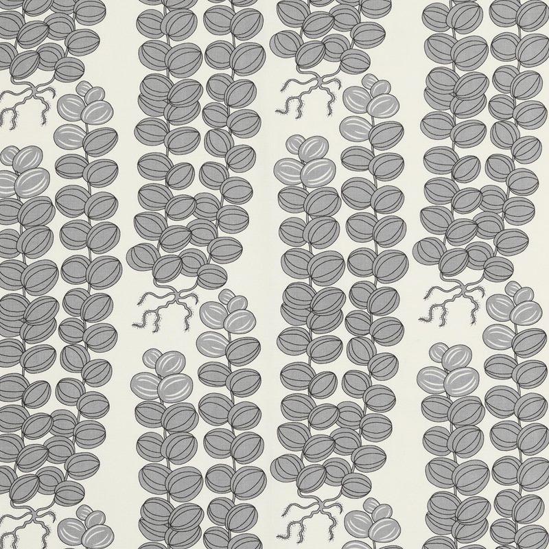 Fabric Sample Celotocaulis - Linen 450, Celotocaulis, Grey | Svenskt Tenn