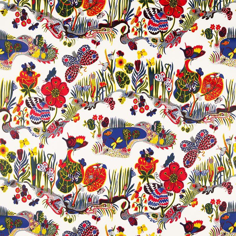 Textil Butterfly - Vaxduk, Butterfly | Svenskt Tenn