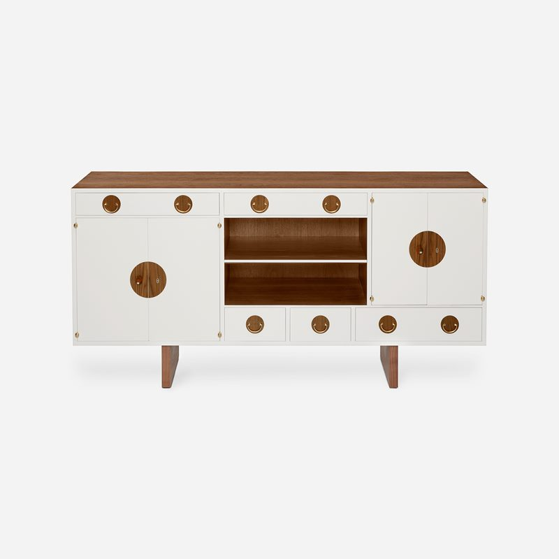 Sideboard 2137 - Walnut, White | Svenskt Tenn