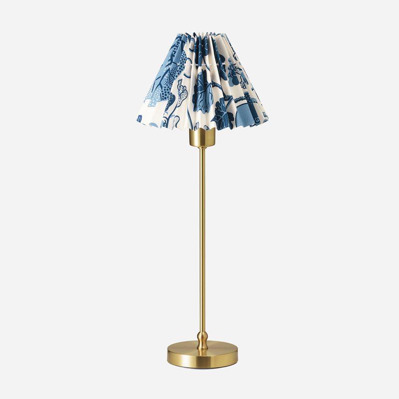 Lampskärm Plisserad - 16,5 cm, Bomull, La Plata | Svenskt Tenn