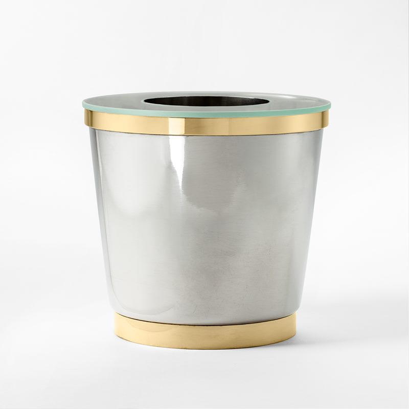 Wine cooler - Pewter & Brass | Svenskt Tenn