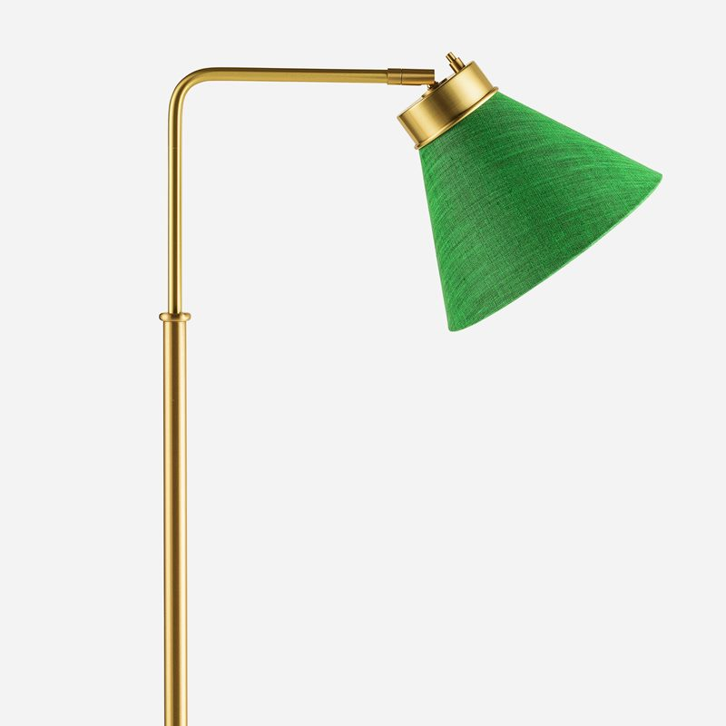 Lampshade 1842 - Linen, Dark Green | Svenskt Tenn