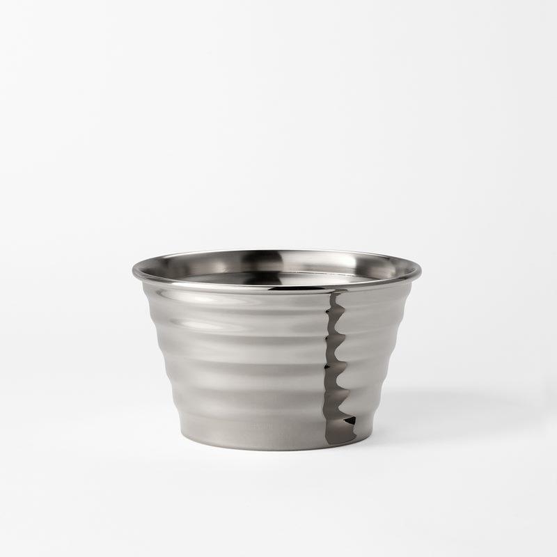 Pot  Wavy - Small, Pewter | Svenskt Tenn