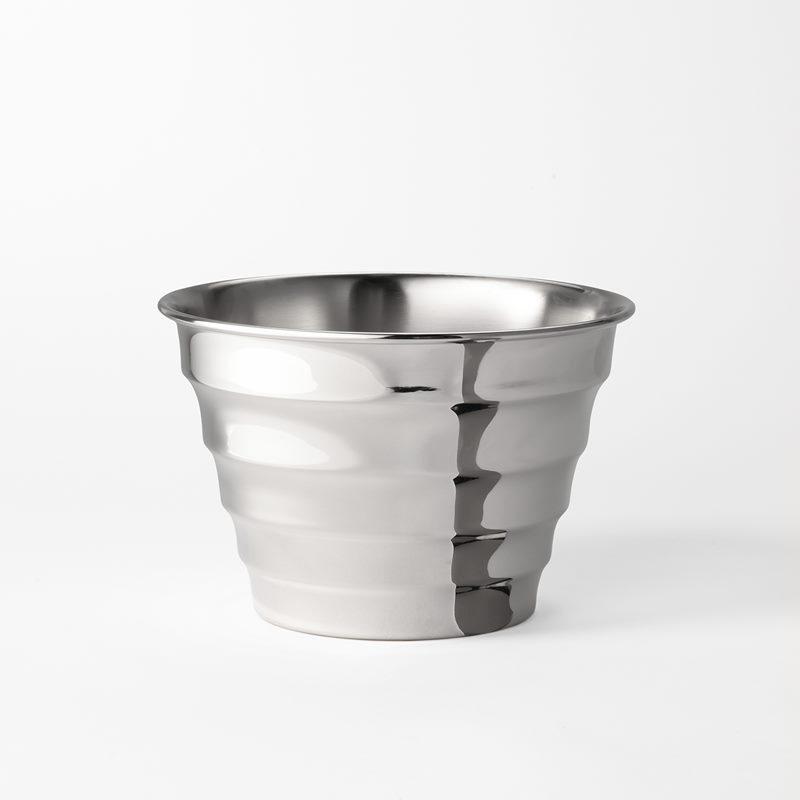Pot Wavy - Medium, Pewter | Svenskt Tenn