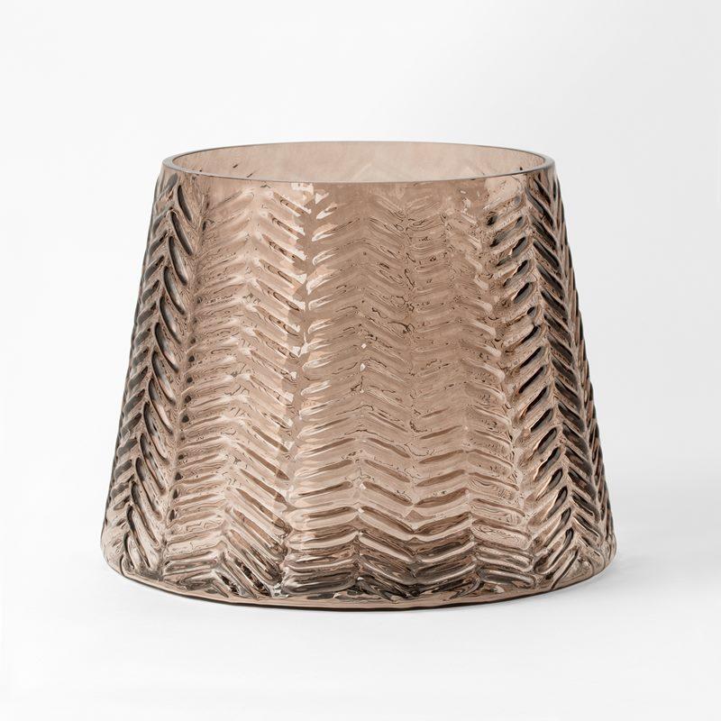 Vase Stubbe - Glass, Brown | Svenskt Tenn
