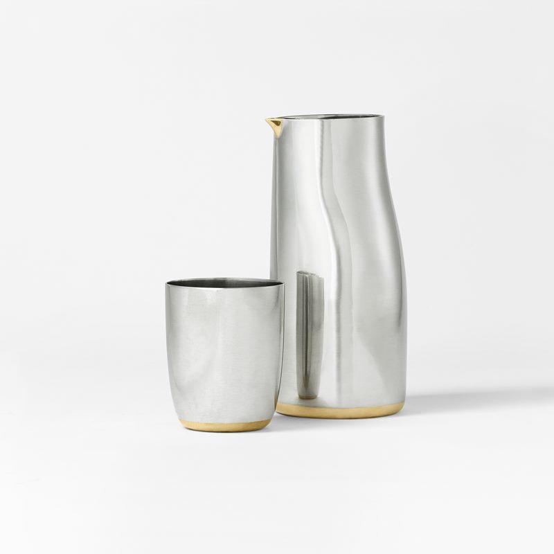 Cup Varg - Pewter & Brass | Svenskt Tenn
