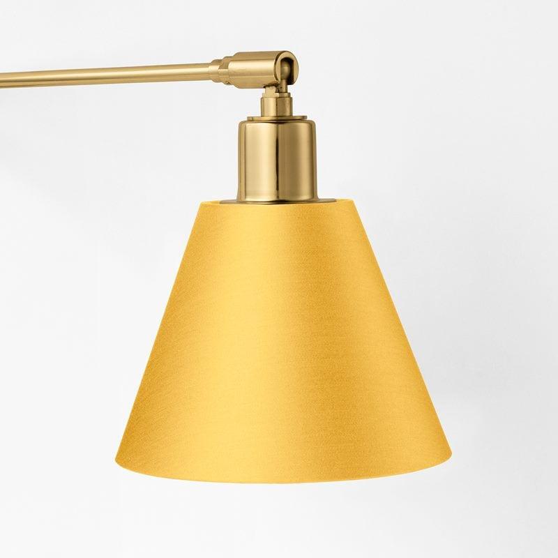 Lampshade 2226 - Cotton Satin, Yellow | Svenskt Tenn