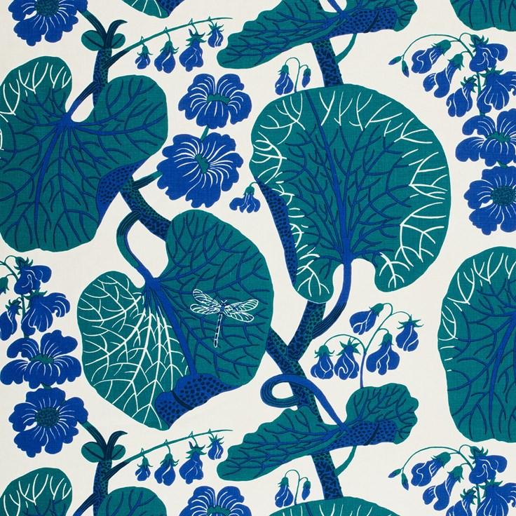 Textile Aramal Linen 315, Aramal, Blue, Josef Frank Svenskt Tenn