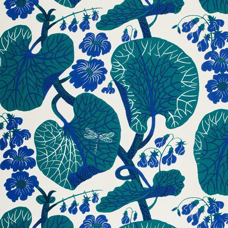Textil Aramal - Lin 315, Aramal, Blå | Svenskt Tenn
