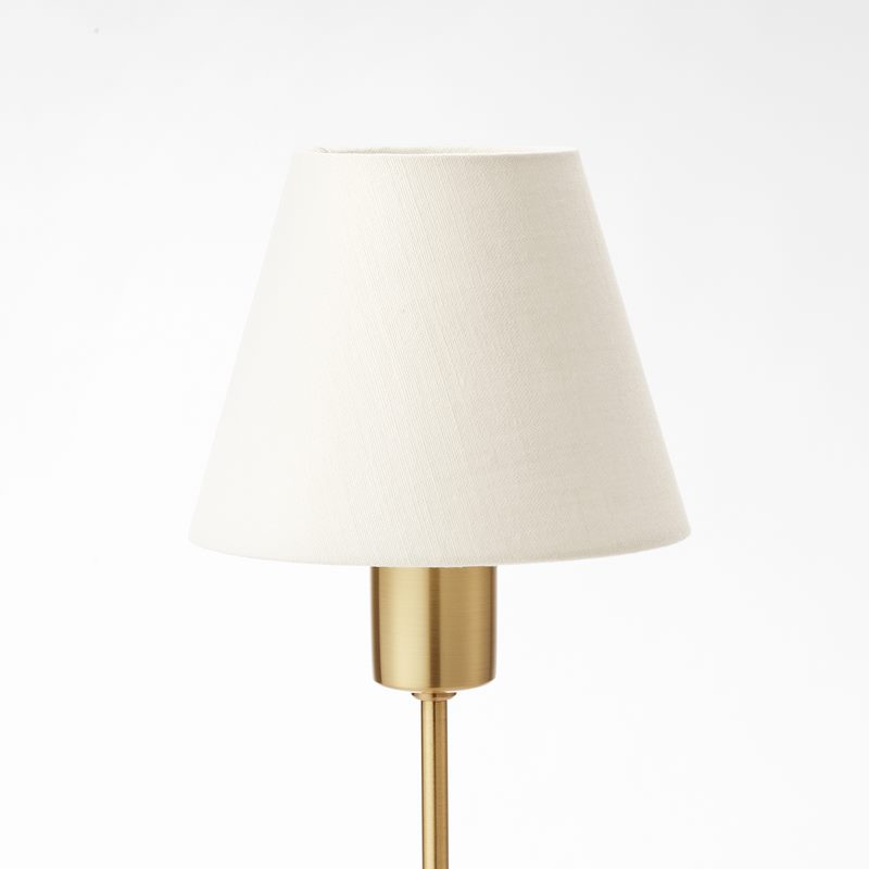 Lampshade 2332 - Linen, White | Svenskt Tenn