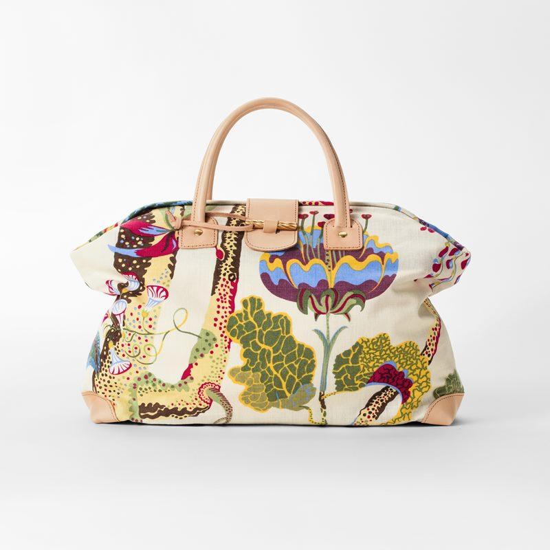 Handbag Vegetable Tree - Linen, Vegetable Tree | Svenskt Tenn