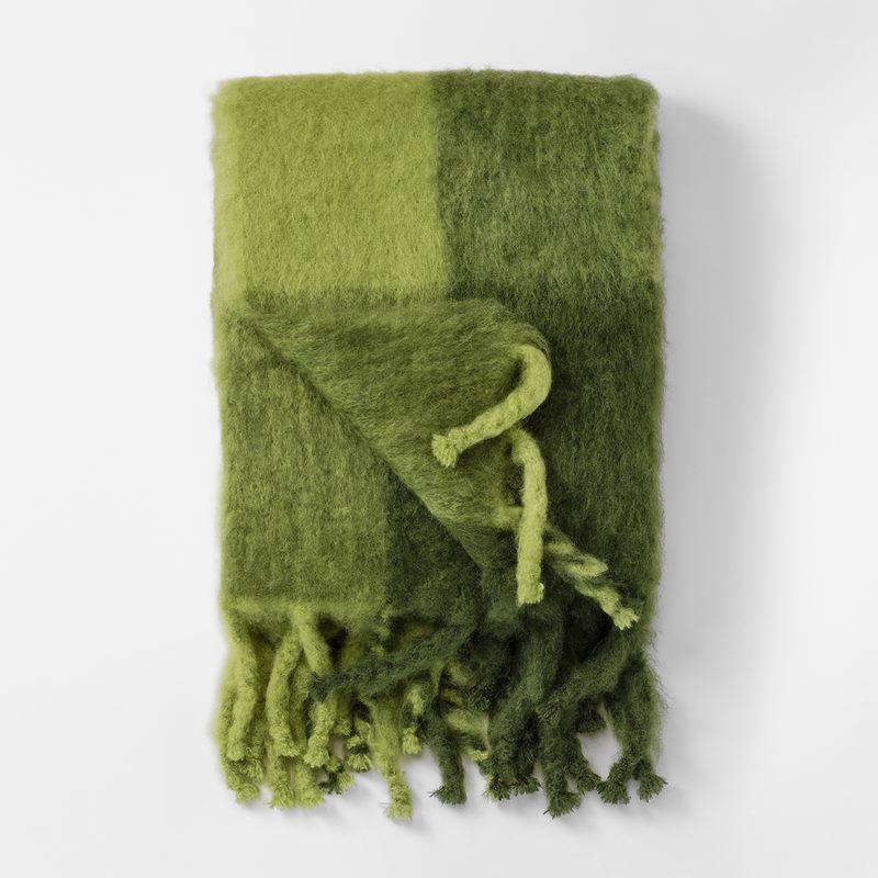 Throw Mohair 130x180 Cm Mohair Wool White Svenskt Tenn