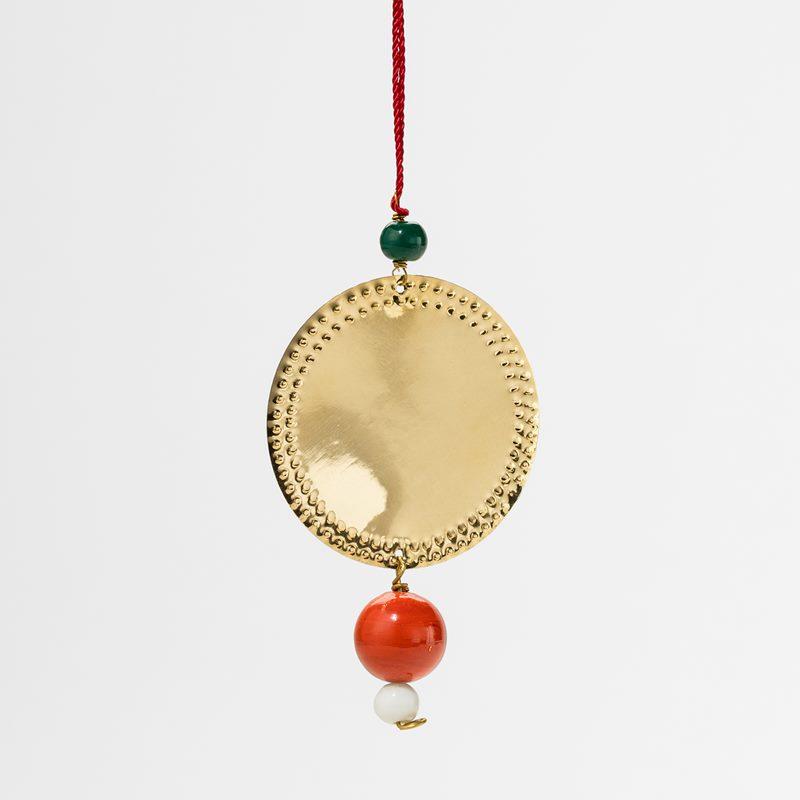 Decoration Nepal Circle Pearl - Brass | Svenskt Tenn