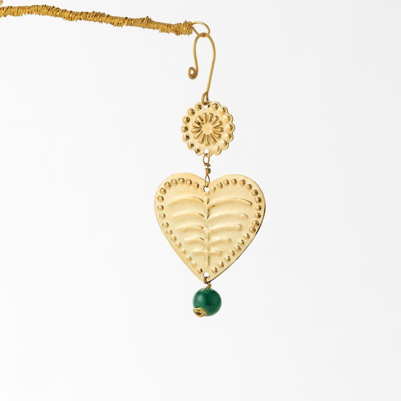Decoration Wish Heart - Brass | Svenskt Tenn
