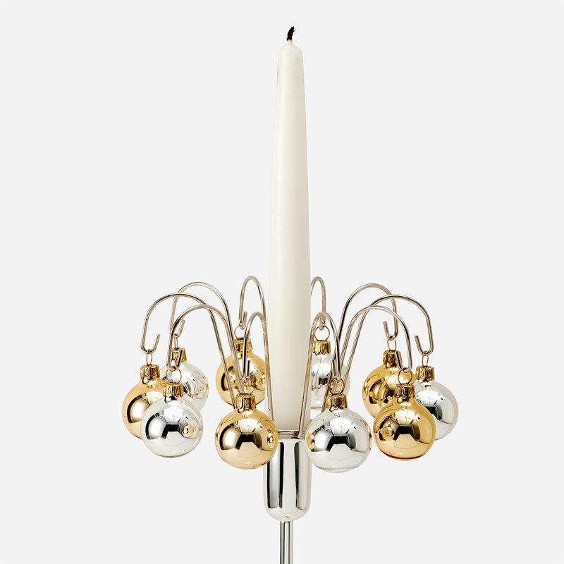 Candle Ring Estrid - Chrome | Svenskt Tenn