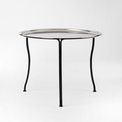 tray table 841 65 cm metal round josef frank svenskt tenn. Black Bedroom Furniture Sets. Home Design Ideas
