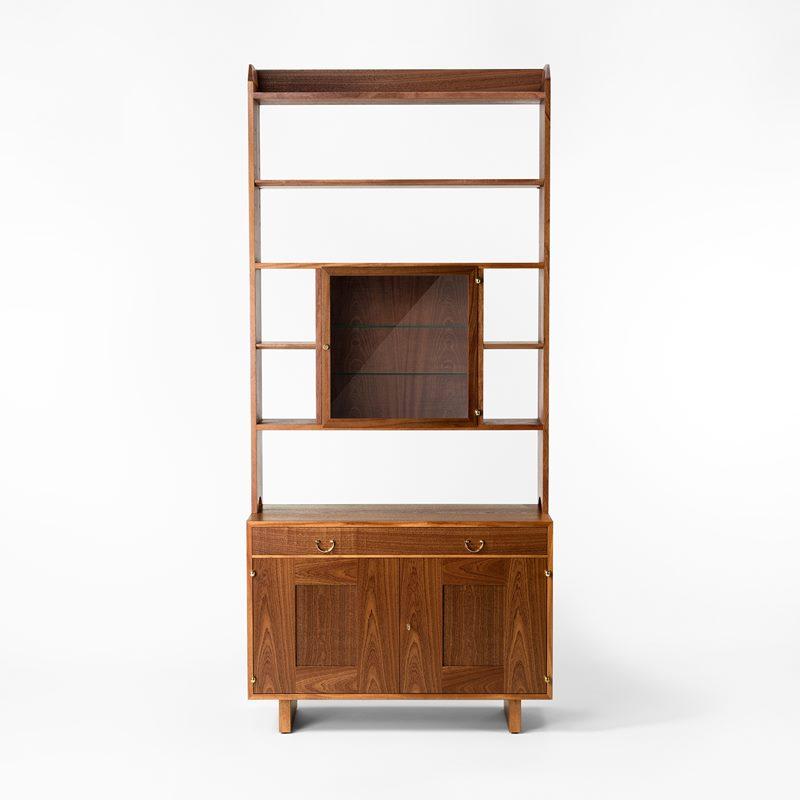 Bookcase 2112 - Mahogany, Cabinet with cabinet | Svenskt Tenn