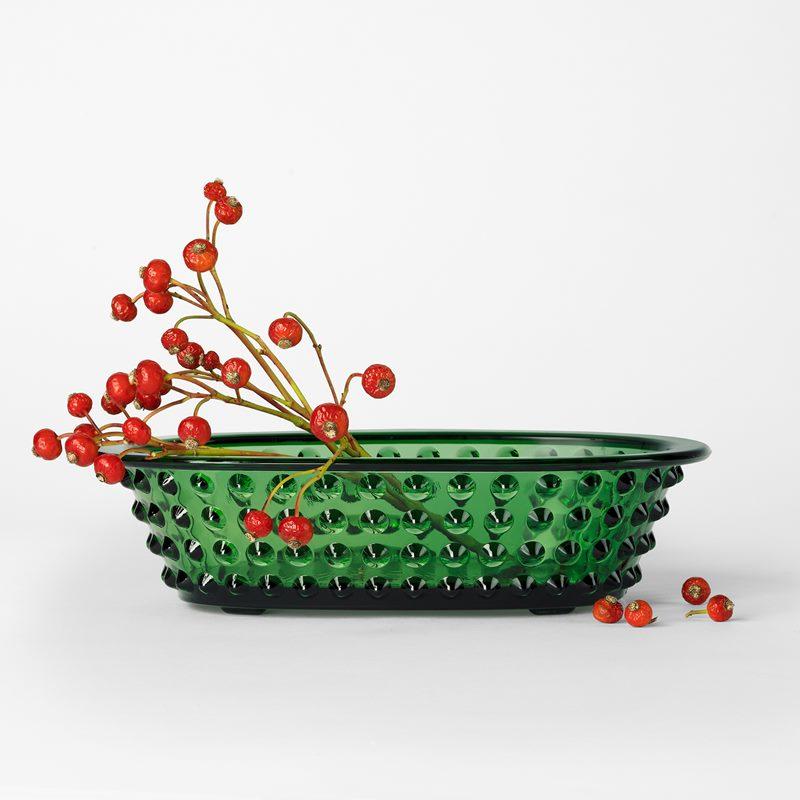 Hortus Flower-Stand - Glass, Green | Svenskt Tenn
