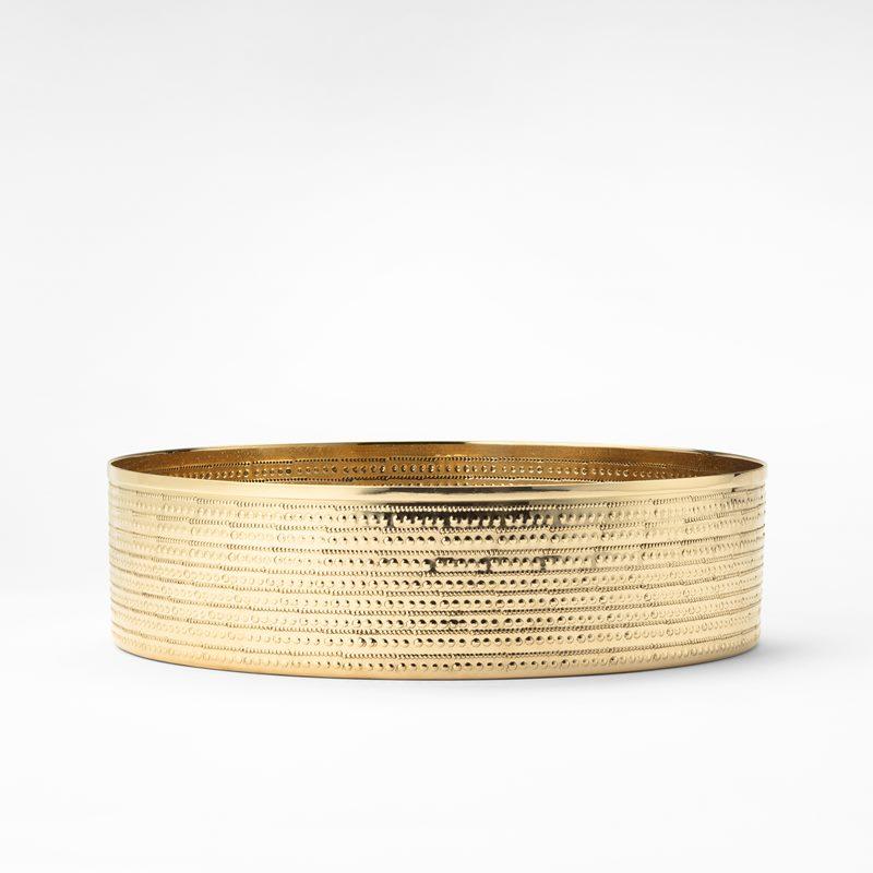 Bowl Garden - Diameter 30 cm, Brass | Svenskt Tenn