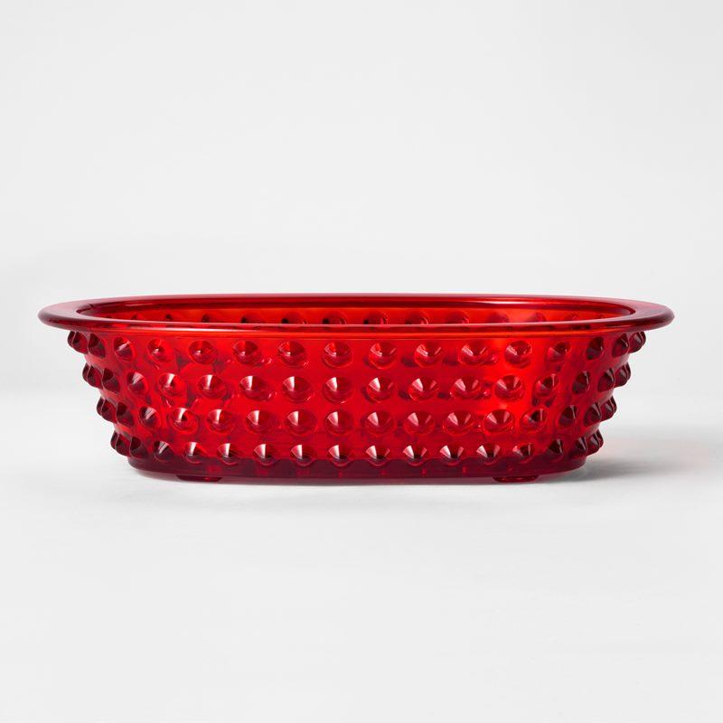 Hortus Jardinjär - Glas, Röd | Svenskt Tenn