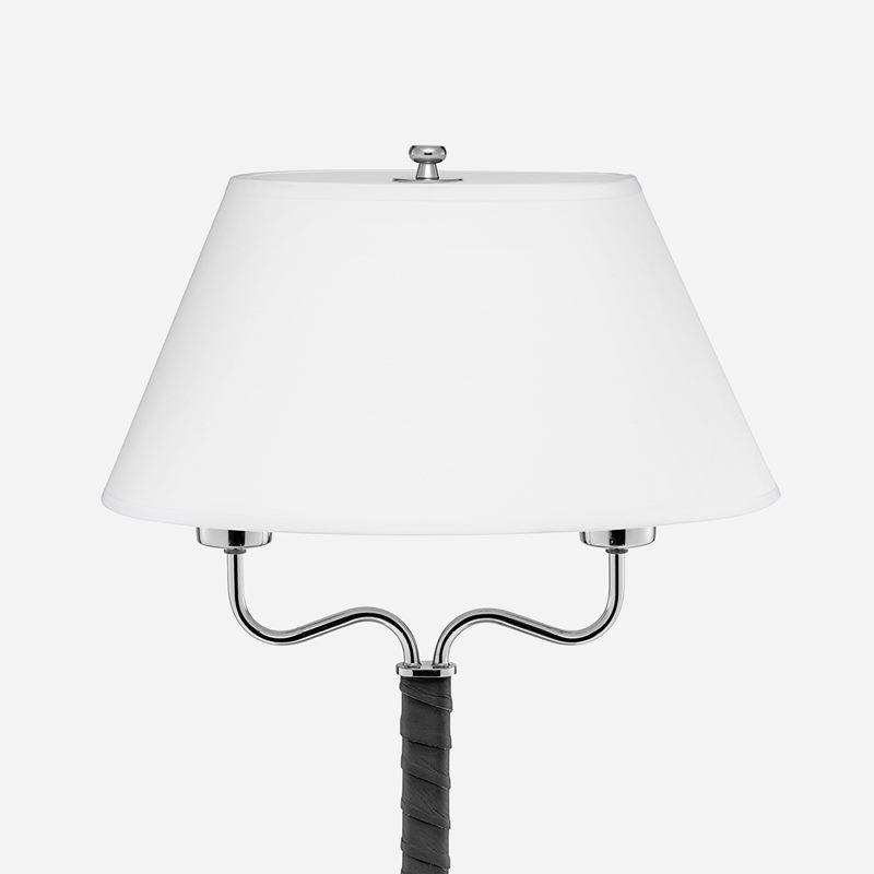 Lampskärm Spänd 2388 - Bomull Satin, Vit | Svenskt Tenn