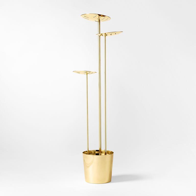 Floor Lamp Shadow 3 - 96x32 cm, Brass | Svenskt Tenn