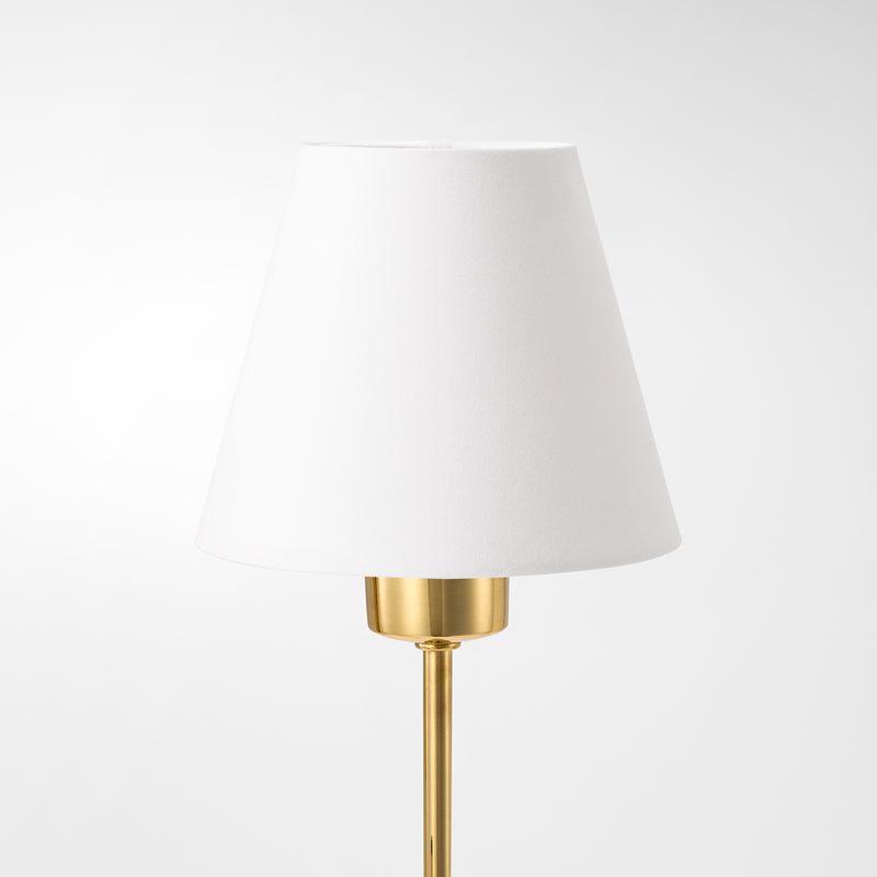 Lampshade 2468 - Cotton, White | Svenskt Tenn