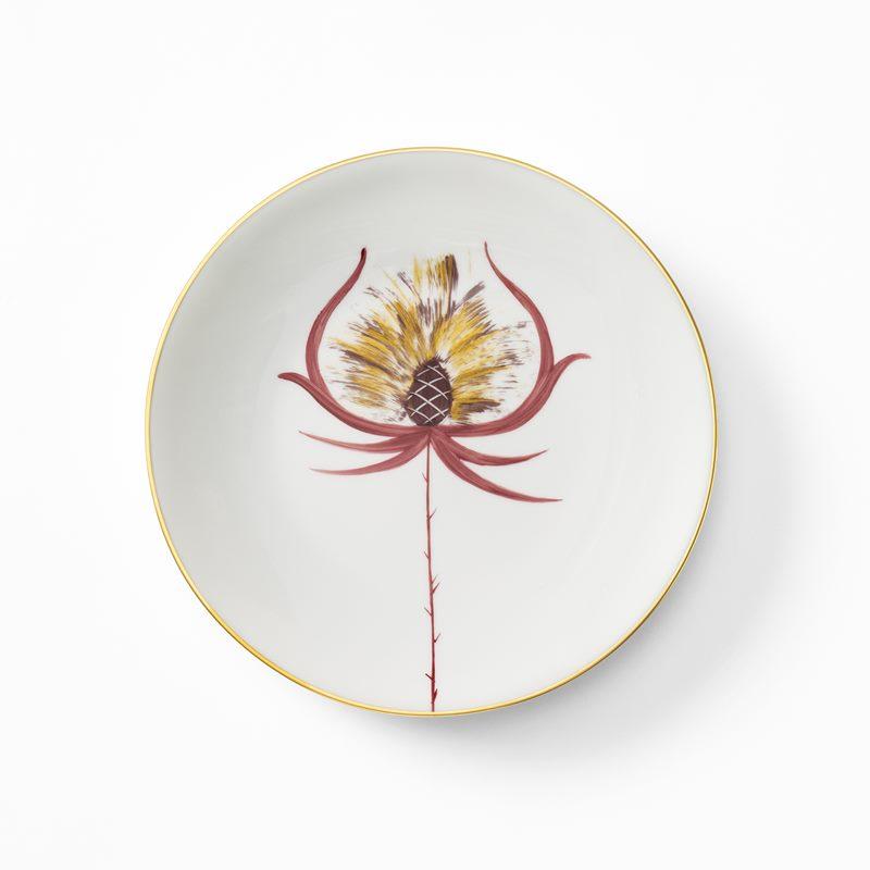 Service Marie Daage - Porcelain, Side Plate, Red Gold | Svenskt Tenn
